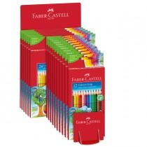 Expo 16 astucci matite colorate Color grip colori assortiti - Faber Castell