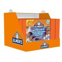 Display Glitter Kit Slime - 8 pezzi - Elmer's