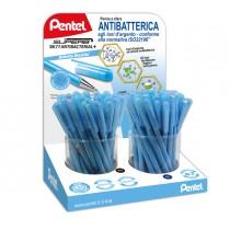 Expo 72 penna sfera SuperB Antibacterial_ (ink blu-nero) Pentel