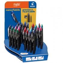 Expo 60 penna scatto Frixion Clicker 0,5mm colori assortiti Pilot