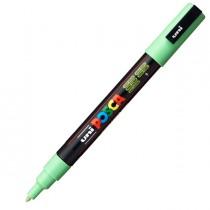 Marcatore UNI POSCA PC3M p.fine 0,9-1,3mm verde chiaro UNI MITSUBISHI