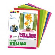 Album di carta velina 24fg 24x34cm colori assortiti DECO