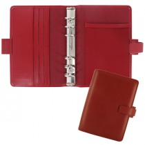 Organiser Metropol Personal f.to 188x135x38mm rosso similpelle Filofax