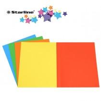 50 Cartelline semplici mix 5 colori 200gr Starline