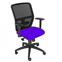 Seduta operativa ergonomica Kemper A Blu c-bracc.reg.