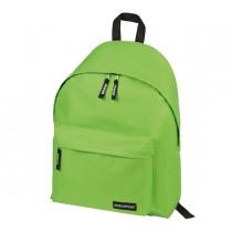 Zaino Scuola Basic 30x40x15cm verde mela Lebez
