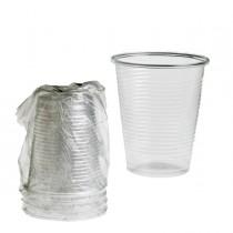 400 Bicchieri 200ml in PLA imbustati singolarmente Leone