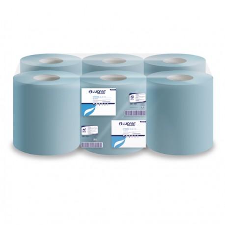 Bobina asciugamani Strong Blue 135 450 strappi 135m Lucart