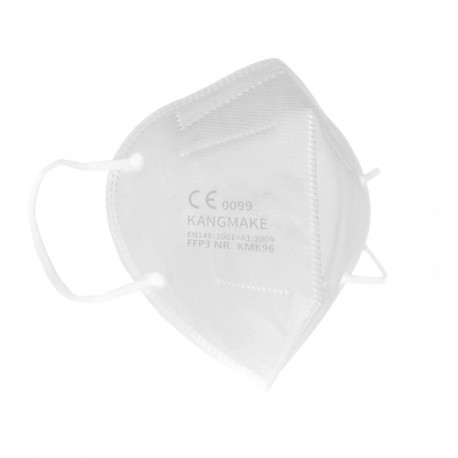 Mascherine bianca FFP3 pieghevole imb.singolarmente CE0099