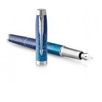 Penna stilo IM SE Submerge Deep Sea Blue Parker