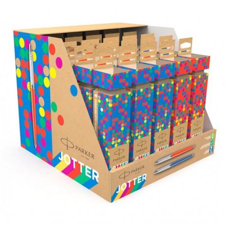 Expo 25 penne a sfera Jotter Cracker colori assortiti punta M Parker