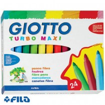 PENNARELLO TURBO MAXI SC. 24 COLORI ASSORTI