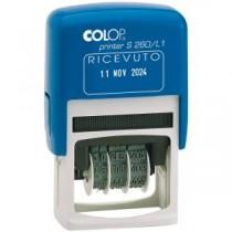 """TIMBRO DATARIO """"RICEVUTO"""" COLOP S260L-4750-"""