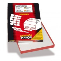 ETICHETTE MARKIN 190x38 FOGLIO A4 (A467)