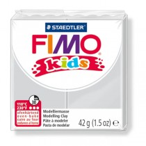 PASTA POLIMERICA FIMO KIDS 42gr GRIGIO CHIARO 80