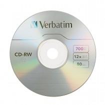 CD RW VERBATIM 80 M. 700MB (E)