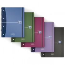 MAXI SPIRALATO PPL METAL 230x297 5mm 90g 80fg MOVEBOOK OXFORD