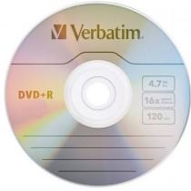 DVD +R REGISTRABILI VERBATIM 4,7 GB (E)