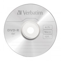 DVD -R REGISTRABILE VERBATIM 4,7 GB