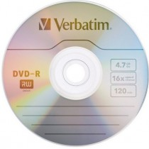 DVD -RW RISCRIVIBILE VERBATIM 4,7 GB