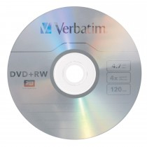 DVD _RW RISCRIVIBILE VERBATIM 4,7 GB