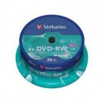DVD-RW RISCR. IMATION 4,7 GB CAMP.25 PZ