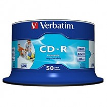 CD-R PRINTABLE 700MB CAMPANA DA 50 PZ