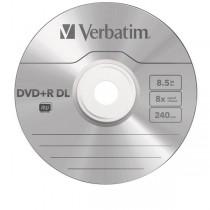 DVD Dual Layer 8,5 Gb 200 minuti (E)