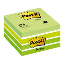CUBO POST-IT 3M 5 COLORI 76x76 VERDE 202
