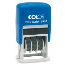 TIMBRO DATARIO  MINI COLOP S120