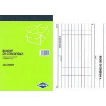 BLOCCO BUONI CONSEGNA 50FF DUPLICE COPIA11,5X16,5 AUTORICALCANTE