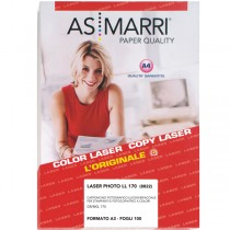 CARTA LASER A3 170GR 100FG PHOTO LUCIDA 8822 AS MARRI