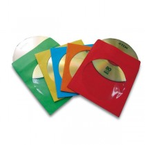 50 BUSTE CD IN CARTA COLORI ASSORT. FELLOWES