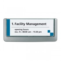 TARGA FUORI PORTA CLICK SIGN 149x53MM DURABLE