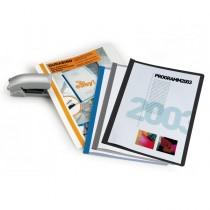CARTELLINA A4 Durabind AZZURRO per RILEGATURA A PUNTI 2250 DURABLE