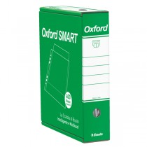 SCATOLA 4x100 BUSTE FORATE 22X30 B.A. STANDARD OXFORD SMART ESSELTE