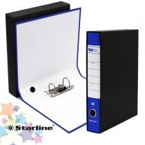 Registratore STARBOX f.to protocollo dorso 5cm blu STARLINE