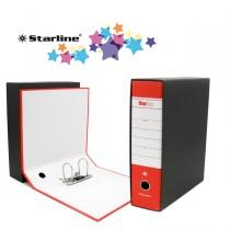 Registratore STARBOX f.to commerciale dorso 8cm rosso STARLINE