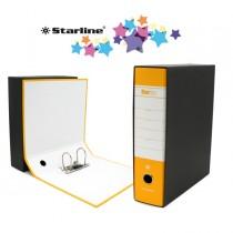 Registratore STARBOX f.to commerciale dorso 8cm giallo STARLINE
