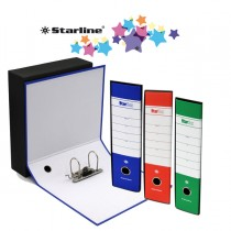Registratore STARBOX f.to protocollo dorso 5cm assortiti STARLINE