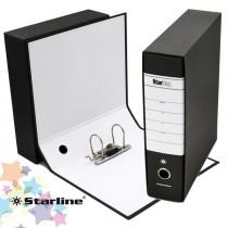 Registratore STARBOX f.to protocollo dorso 8cm nero STARLINE