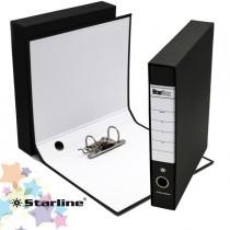 Registratore STARBOX f.to protocollo dorso 5cm nero STARLINE