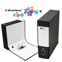 Registratore STARBOX f.to commerciale dorso 8cm nero STARLINE