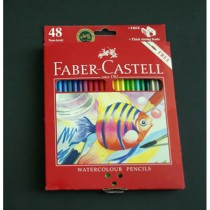 ASTUCCIO 48 PASTELLI COLORATI ACQUERELLABILI RED RANGE FABER CASTELL