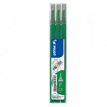SET 3 REFILL SFERA FRIXIONpoint 0.5mm VERDE PILOT