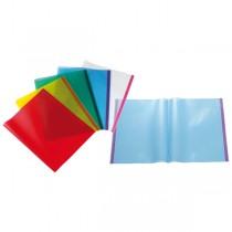 COPRILIBRO PVC liscio COVERLIBRO T trasparente rosso SEI ROTA