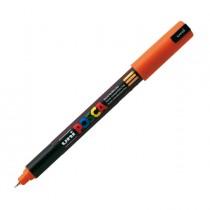 Marcatore UNI POSCA Pen PC1M p.extra fine 0,7mm arancio UNI MITSUBISHI