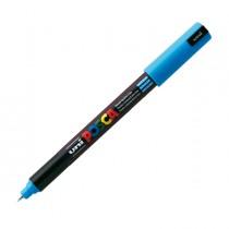 Marcatore UNI POSCA Pen PC1M p.extra fine 0,7mm azzurro UNI MITSUBISHI