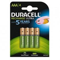 Blister 4 pile ricaricabili B4 - MiniStilo 800mAh Duracell Duralock precaricata