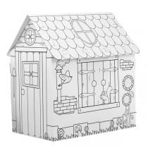 Modello in cartone Fairy Forest 98x72x78cm c-12 pennarelli jumbo Joypac